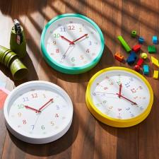 [HC]베이직 어린이시계공부 30cm 무소음벽시계